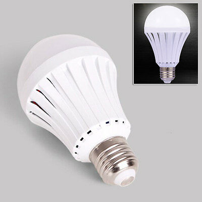 LED Emergency Light Automatic Charging 5/7/9/12W Rechargeable Battery E27 Lamp