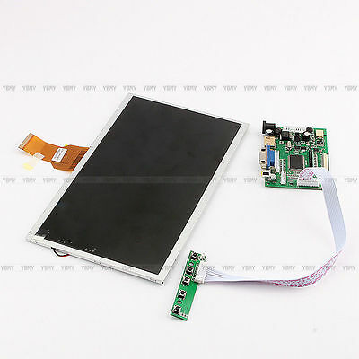 10.1 Inch TFT LCD Display Module HDMI+VGA+Video Driver Board für Raspberry Pi