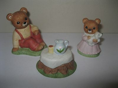 Figurines Homco Decorative Collectible Brands