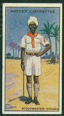 1923 Anstie's Scout Series, Tobacco card, No 47, Scoutmaster - Soudan