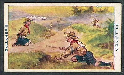 1911 Gallaher Boy Scout Series, Tobacco card, No 44, Rescue the Prisoner (Game)