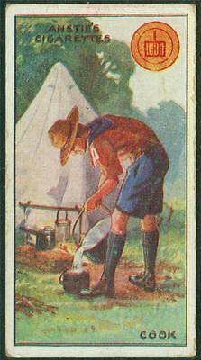 1923 Anstie's Scout Series, Tobacco card, No 19, Cook