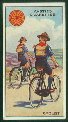 1923 Anstie's Scout Series, Tobacco card, No 23, Cyclist