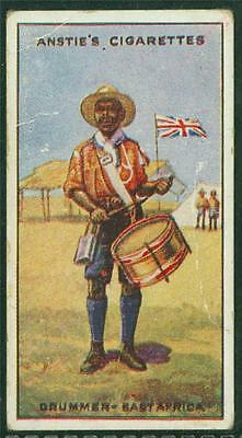 1923 Anstie's Scout Series, Tobacco card, No 48, Drummer - East Africa