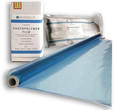 Photopolymer Film Photo Resist  Dry Film Photoresist | for etching pcb, gravure