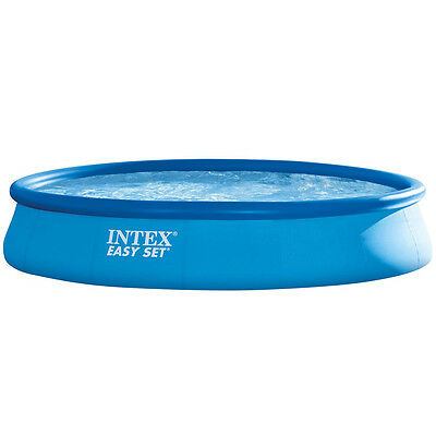 Intex Aufstellpool 28158 GN Easy Set Pools mit Filterpumpe TÜV/GS 457 x 84 cm