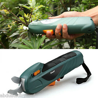 7.2V Rechargeable Electric Scissor Branch Cutter Garden Power Tool
