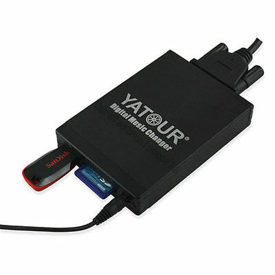 Yatour Car/Auto CD Music Changer Digital USB MP3 Adapter for Toyota Corolla RAV4