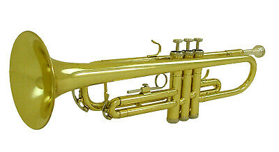 Vivace Trumpet by Fortissimo Kids Trumpet Children's Brass Woodwind Instrument