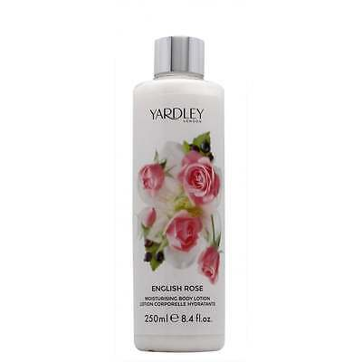 Yardley English Rose Body Lotion 250ml - NEW - UK