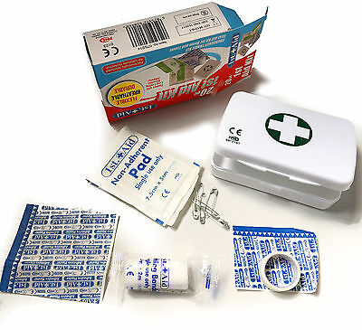 20Pc First Aid Kit For Emergency Home And Travel Work Safety Life Protection
