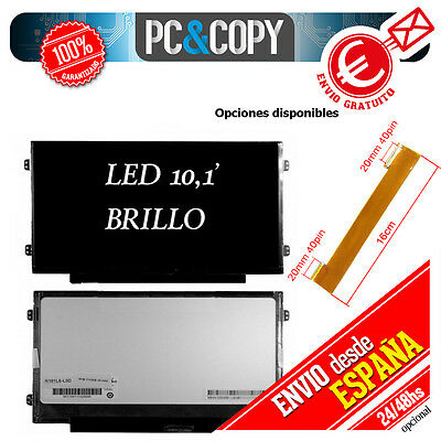 Pantalla portatil10,1' LED Acer aspire one D255E Series brillo o cable alargador