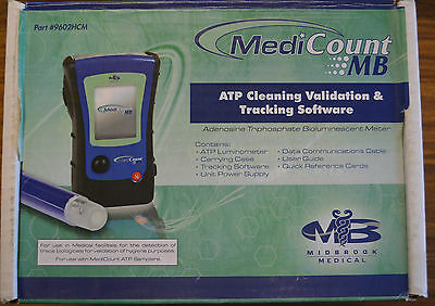 MediCount MB ATP SANITATION MONITORING SYSTEM with Tracking Software