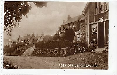 POST OFFICE, CRAWFORD: Lanarkshire postcard (C18260)