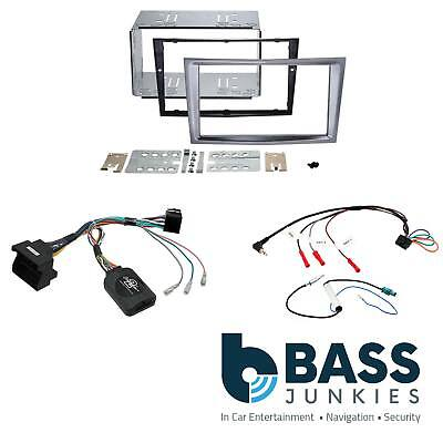 Vauxhall Astra Car Stereo Double Din Fascia Steering Wheel Interface Kit CTKVX35