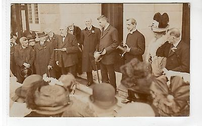 Real photo event postcard by photographer T. Johnstone of Motherwell (C18137)