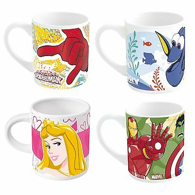Kids Character Ceramic Cup Mug - Finding Dory Princess Avengers Spiderman