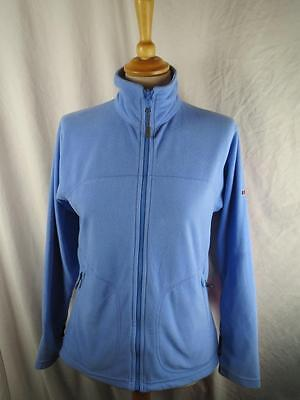 Berghaus Ladies Base Layer Blue Outdoor Fleece Jacket Size 10 - VGC