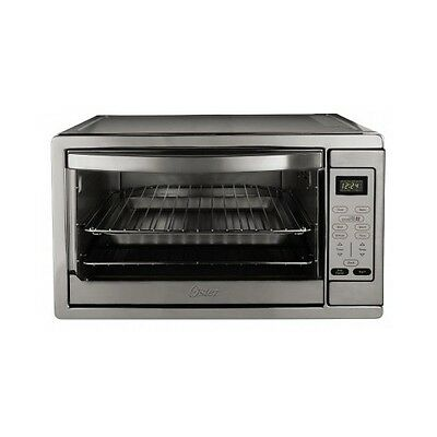 Large Convection Toaster Oven Countertop Stainless Steel Kitchen Pizza Cooking
