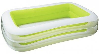 Intex Swim Center Family Inflatable Pool, 103 X 69 X 22 , For Ages 6+