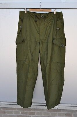 CANADIAN MILITARY WINDPROOF COMBAT PANTS SIZE 7036 New