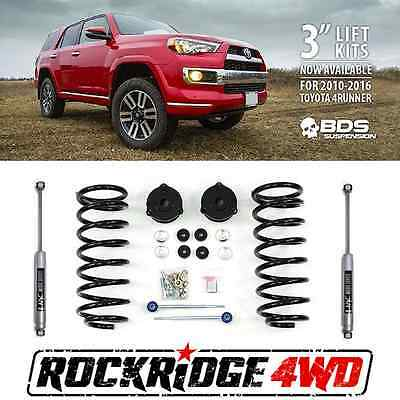 "BDS Suspension 3"" Suspension Lift Kit for 2010-2016 Toyota 4Runner 4WD USA MADE"