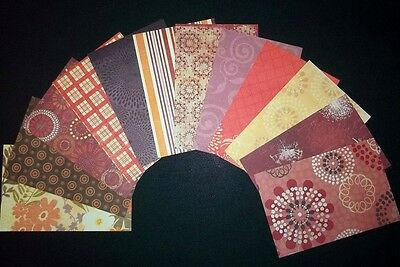 "*LUXE* Colorbok Designer Scrapbooking/Cardmaking Papers  x 12 *15cmx10cm( 6""X4"")"