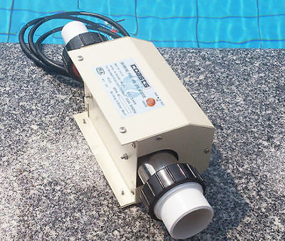 2KW Swimming Pool and SPA Heater Electric Heating Thermostat 220V