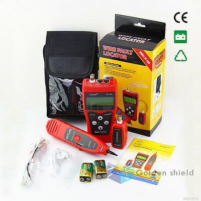 LCD Display Telephone Network Ethernet LAN Phone Tester NF308-R