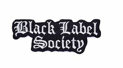 Black Label Society BLS Heavy Metal Embroider Sew On Iron On Shirt Jacket Patch