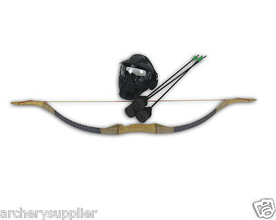 30 Lbs Larp Archery Bow and Arrows Set Archery Battle Tagging Equipment