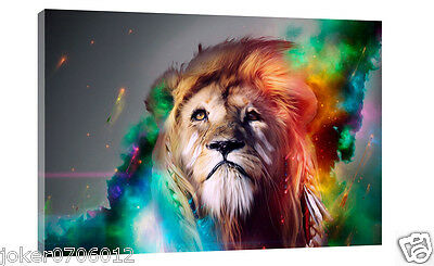 Home Deco Oil Painting HD Print Animal The lion On Canvas Modern Deco Wall art