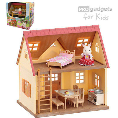 Genuine Sylvanian Families Cosy Cottage Starter Home for age 3+