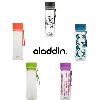 Aladdin AVEO Water Bottle 600ml bpa Free *Choose your Colour*