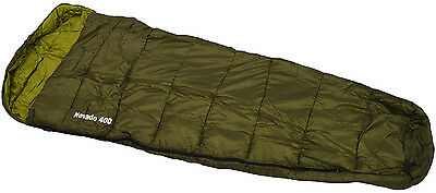 Olive Green 4 Season XL Single Mummy Camping Sleeping Bag
