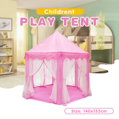 New Children Pop Up Play Tent Princess Playhouse Wigwam Indoor Outdoor Party