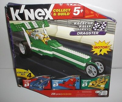 K'nex Racecar Rally Series 2 Dragster Brand New