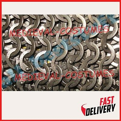 Chain Mail Sheet Flat Riveted Flat Washer Rings SHEET Only A2