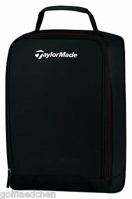 Taylor Made Performance Shoebag / Golf Schuhtasche - Schwarz / Black - NEU & OVP