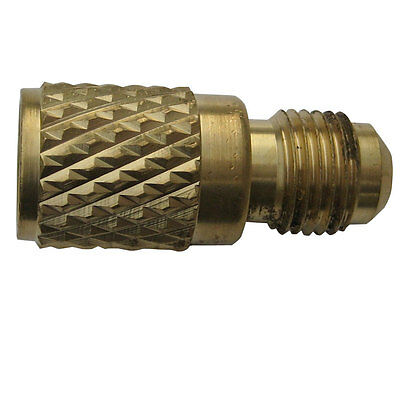 Refrigerant Hose Adaptor R410a Female  x 1/4  Inch Male