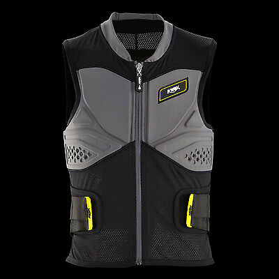 V14 Knox Track Vest With Aegis back protector Certified to CE Level 2 Large