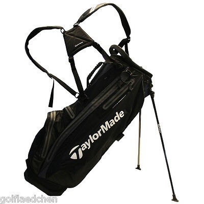 TAYLOR MADE Pure-Lite Waterproof Standbag / Golfbag 2015, Black - NEU - UVP 239€