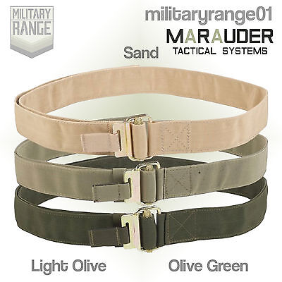 Marauder British Army Roll Pin Belt - Light Olive /Olive Green - Quick Release