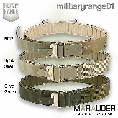 Marauder British Army PLCE Roll Pin Belt - MTP/ O Green / L Olive -Quick Release