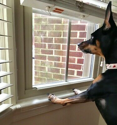 Dog Pet Window Sill Ledge Protector - Sill Shield Guard Cover Prevents Scratches