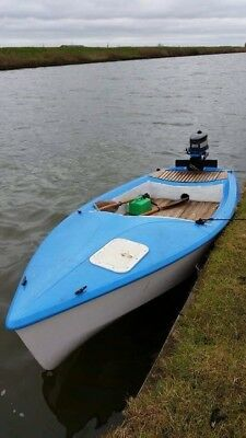 Boat fishing pleasure REDUCED FROM £795
