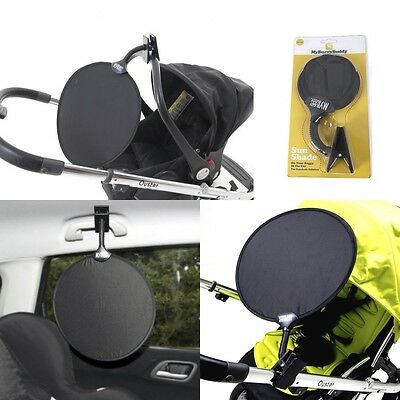 My Buggy Buddy Universal Easy Clip On Sun Shade UV 50+ For Pushchair & Car