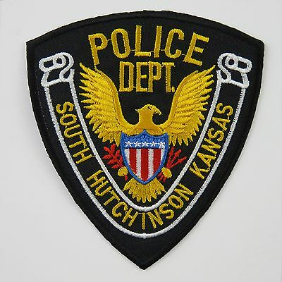 Police USA Cop Iron On / Sew Cloth Patch Badge Appliqué american stag hen party
