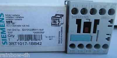 Brand New in Box Siemens 3RT1017-1BB41 Programmable Logic Controller Contactor