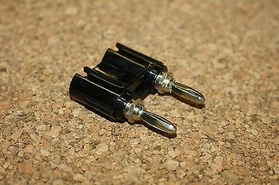 Ef Johnson Dual Banana Pin Connector - For Viking And Others
